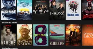 Netflix lancia 11 nuove serie TV