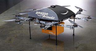 Amazon: consegna dei pacchi col paracadute