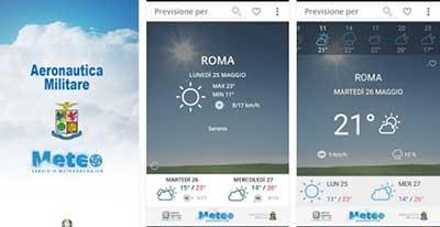 Meteo Aeronautica: migliori app meteo
