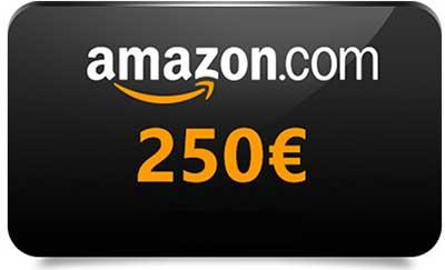 Come ricevere gratis buono amazon di 250 euro promozioni for Promozioni amazon