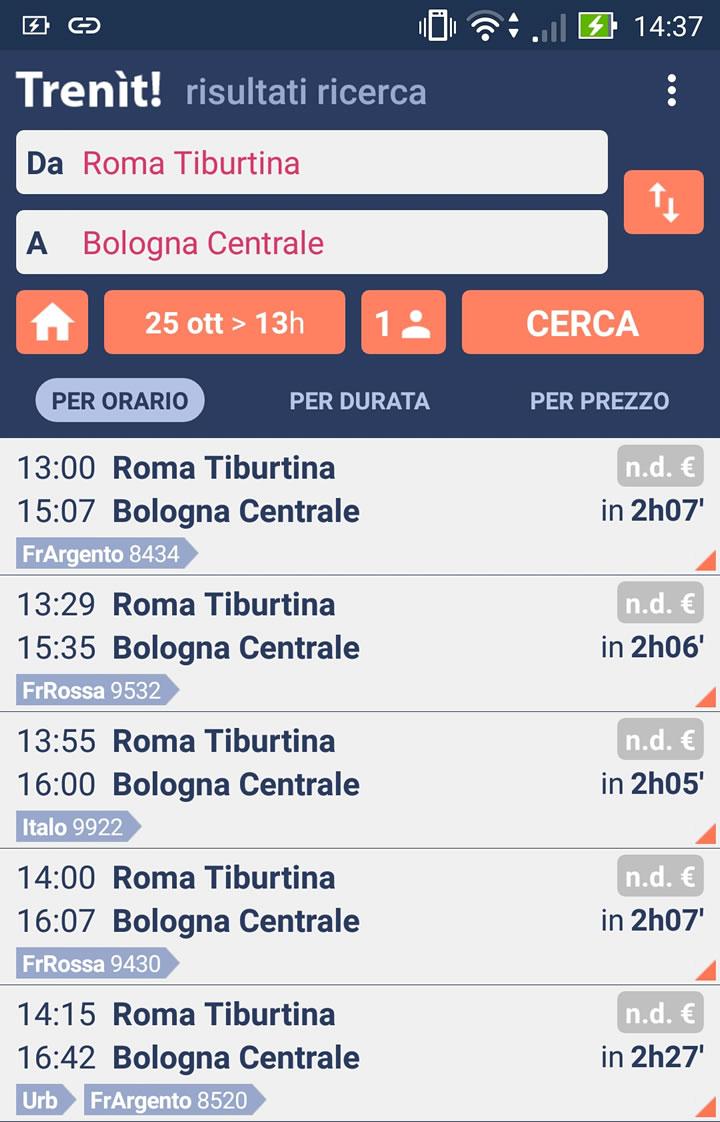 Orari dei treni: servizio gratuito con bot telegram