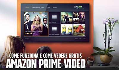 Amazon prime video film e serie tv su amazon promozioni for Promozioni amazon