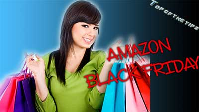 Amazon lancia offerte Black Friday in anticipo