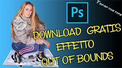 Out of Bounds (fuori dai bordi): Download gratis azione Photoshop