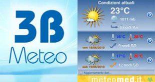 3b meteo: migliori app meteo
