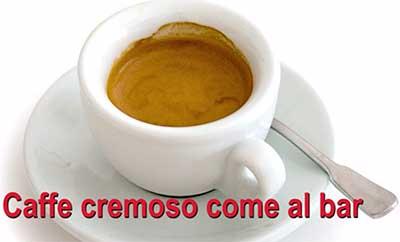 caffè cremoso come al bar