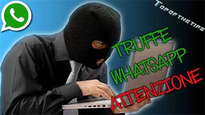 Truffe su WhatsApp, come evitarle