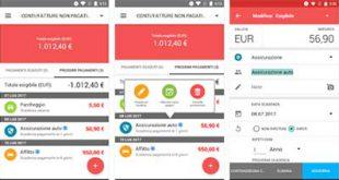 Scadenzario Bollette, app per gestire il bilancio familiare
