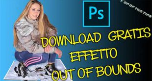 Out of Bounds (fuori dai bordi): Download gratis azione Photoshop