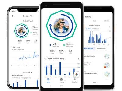 GOOGLE FIT: App smartphone per tenersi in forma