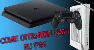 Come ottenere il NAT Aperto su PS4 (infostrada telecom)