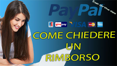 Come chiedere un rimborso tramite Paypal