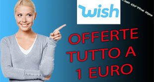 Wish: tutto in offerta a 1 euro